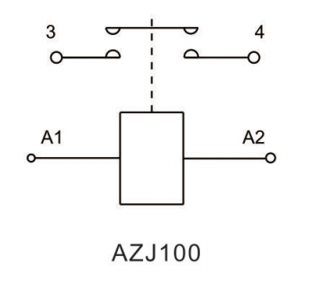 100A dc contactor circuit diagram