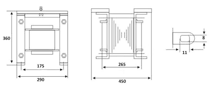 30 kVA Isolation Transformer, single phase, 110V to 220V | ATO.com  Phase Vfd Isolation Transformer Wiring Diagram on vfd control wiring diagram, blank ternary diagram, single phase transformer wiring diagram, 3 phase transformer connection diagram, 3 phase buck boost transformer wiring diagram, three phase transformer wiring diagram, 3 phase current transformer wiring diagram, 3 phase circuit breaker wiring diagram, transformer circuit diagram, 3 phase to single phase transformer diagram, 240 single phase wiring diagram, 3 phase autotransformer wiring diagram, 3 phase capacitor wiring diagram, 3 phase delta transformer wiring diagram, phase converter wiring diagram, 3 phase power wiring diagram, isolation relay wiring diagram, 3 phase generator wiring diagram, 3 phase vector diagram, 3 phase motor winding diagrams,