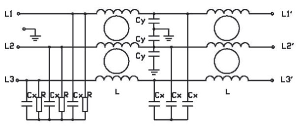 3 phase 2 stage filter electrical schematic