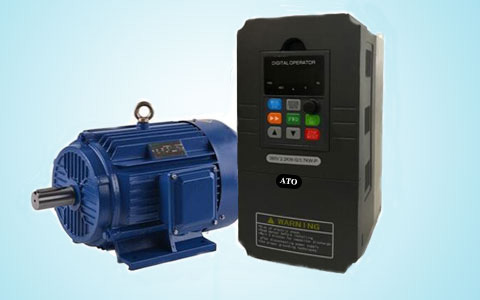 3-phase induction motor and vfd