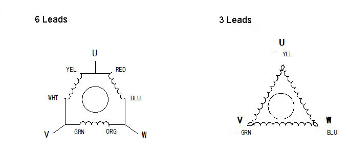 3 phase stepper motor wiring