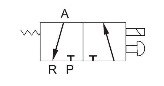 diagram for solenoid symbol