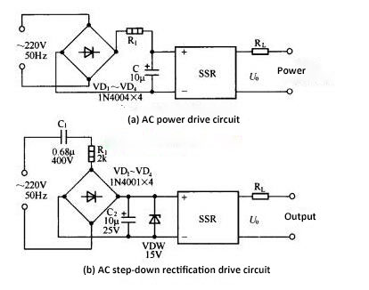 AC power drive SSR