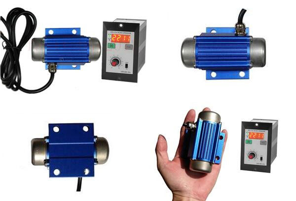 DC brushless vibration motor variable speed-display control.
