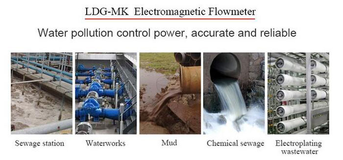 Electromagnetic flow meter applications
