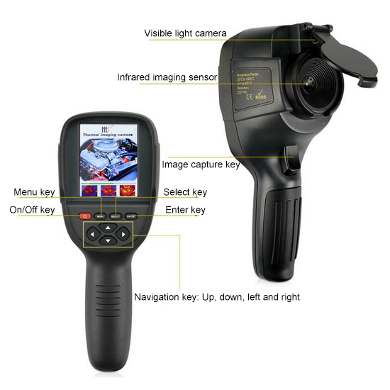 HT-18 thermal imaging camera infrared camera constitution