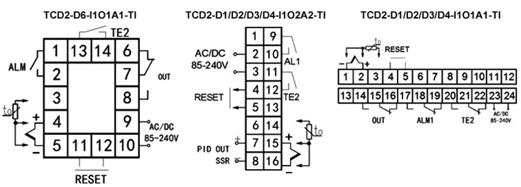 PID temperature controller with timer relay wiring diagram