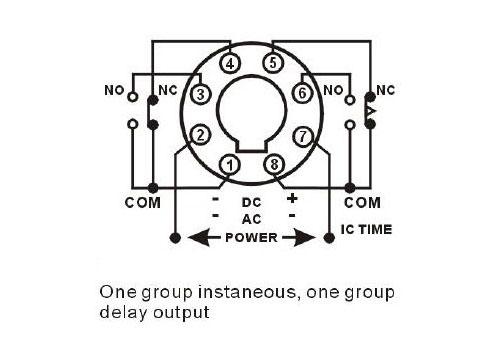 Relay Wiring Diagram 8 Pin