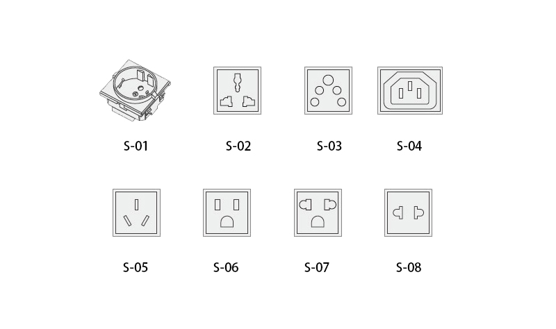 generator output sockets selection