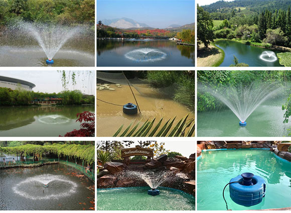 Aerator pump applications