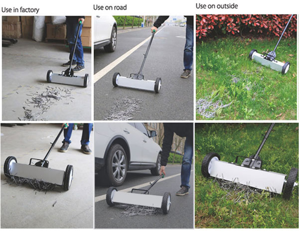 magnetic sweepers applications