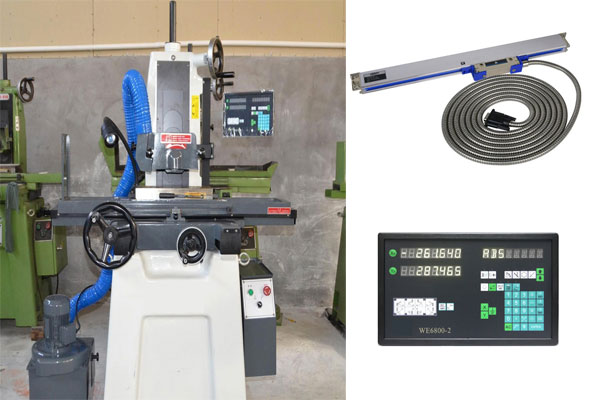 digitale read out for surface grinders