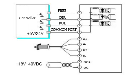 DSP42 driver wiring diagram