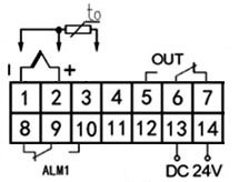 Freezer temperature controller wiring diagram