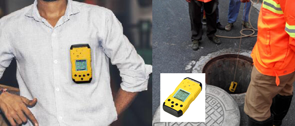 gas detector for underground detection