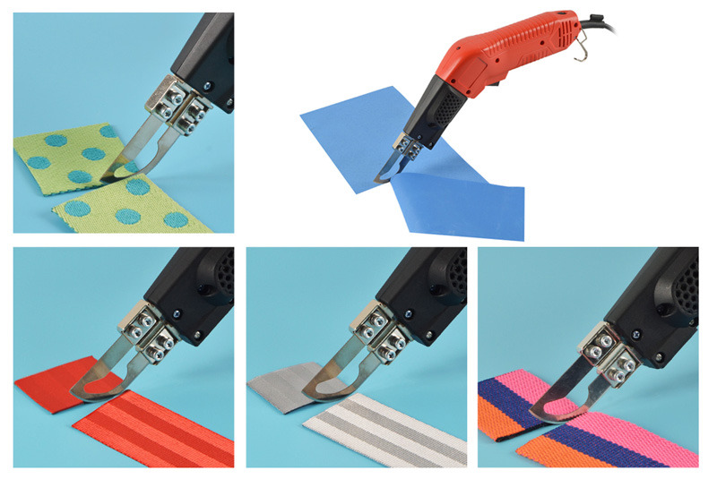 Handheld fabric cutter applications