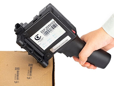 Handheld inkjet printer