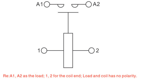 high voltage dc contactor coil-schematic