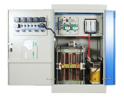 Industrial ac automatic voltage stabilizer