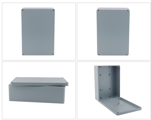 IP67 Aluminum Waterproof Junction Box Diagram