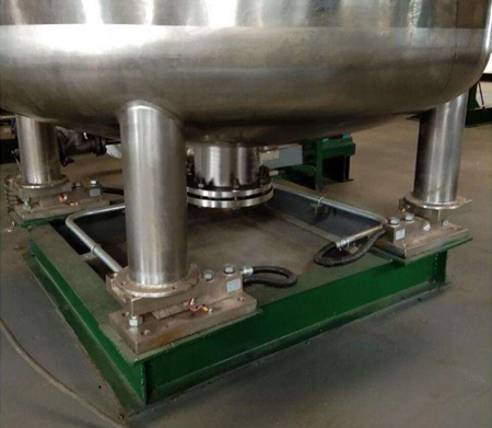 Shear beam load cell in weighing system