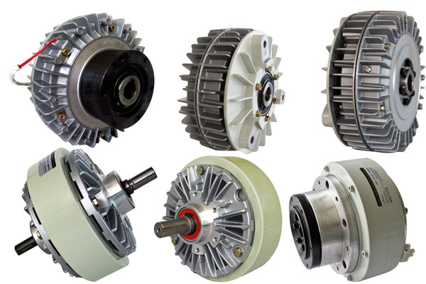 Magnetic particle clutch and brake