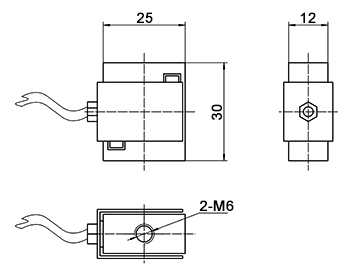 Micro load cell s type 1kg to 50kg dimension