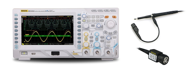 Oscilloscope and probe