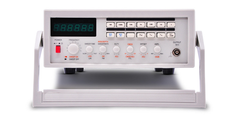 Product Panel Real Shot of Sweep/AM/FM Function Signal Generator