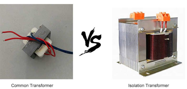 Regular and Isolation Transformer