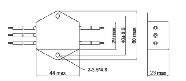 single phase filter dimensions