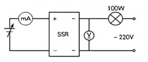 Solid state relay testing