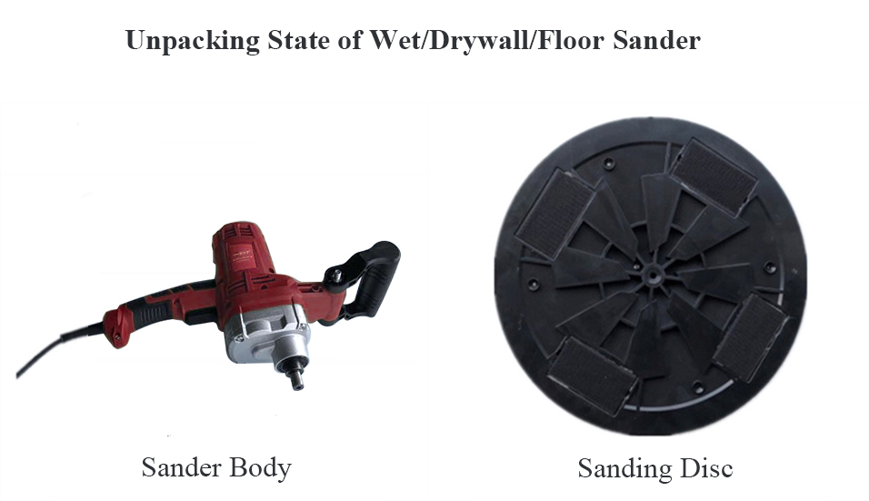 Unpacking State of the Wet/Drywall/Floor Sander
