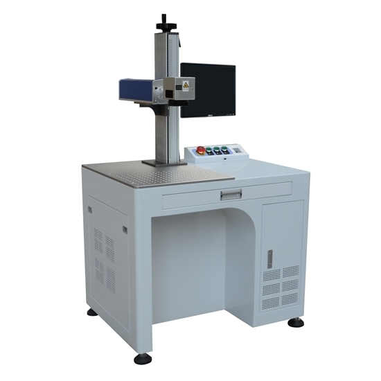 20w Economic Desktop Fiber Laser Marking Machine