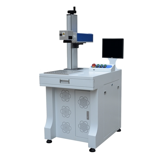 20w Economic Desk Type Fiber Laser Marking Machine