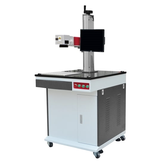 20w Economic Movable Fiber Laser Marking Machine