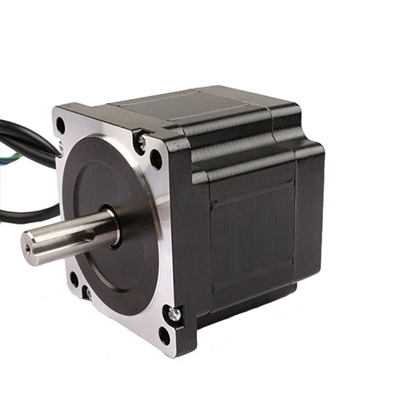 High Torque Nema 34 Stepper Motor, 6A, 1.8 degree,  4 wires