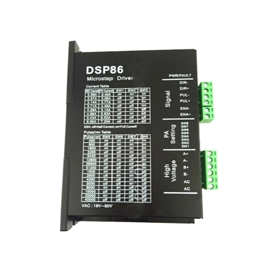 Digital Stepper Driver 2-6A for Nema 23, 34, 42 Stepper Motor