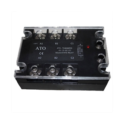 Solid state relay, 3 phase,  SSR-40DA, 40A 3-32V DC to AC