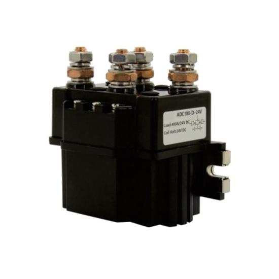 100A DC Reversing Contactor, 2 pole, 12V/24V/48V