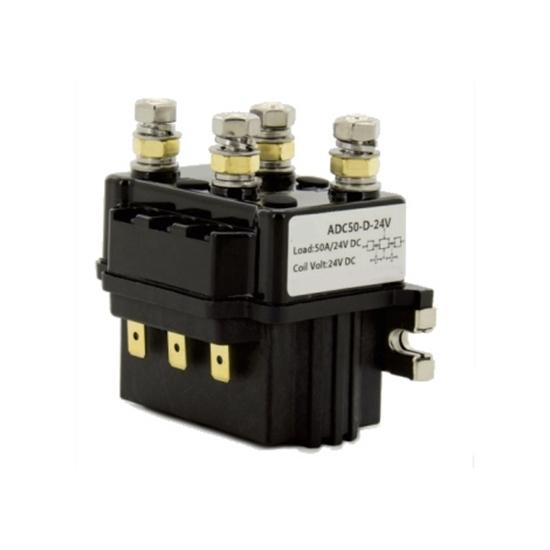 50A DC Reversing Contactor, 2 pole, 12V/24V/48V