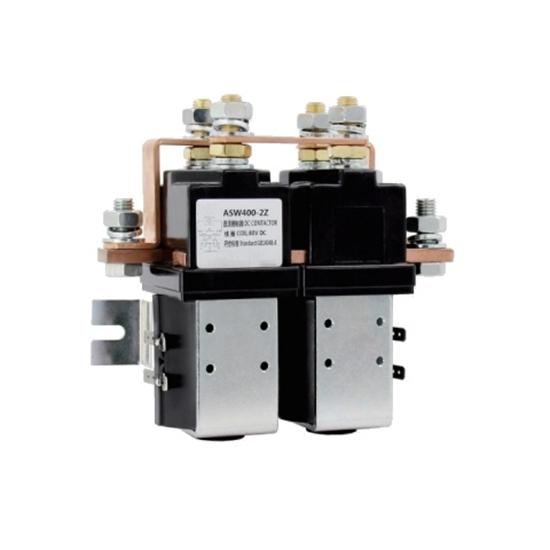 400A DC Reversing Contactor, 2 pole, 12V/24V/48V