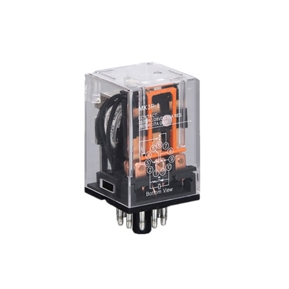 Electromagnetic Relay, 11-pin 3PDT, 12V/24V/110V/220V coil