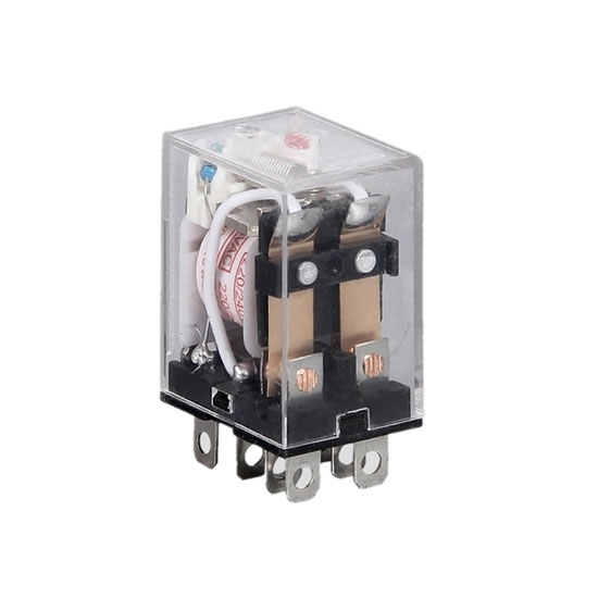 Electromagnetic Relay, 8-pin DPDT, 12V/24V/110V/220V