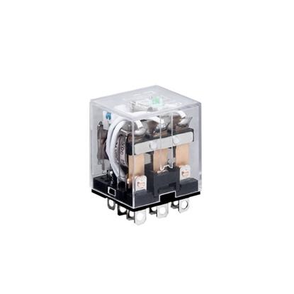 Electromagnetic Relay, 11-pin 3PDT, 12V/24V/110V/220V