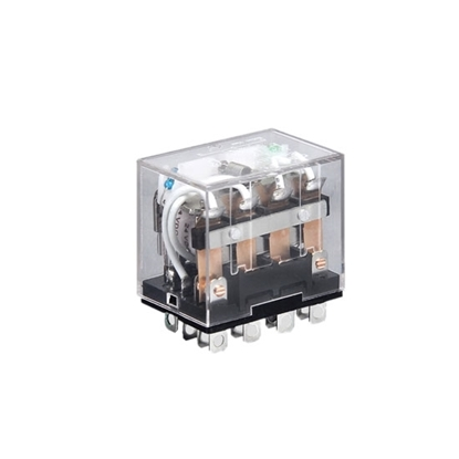 Electromagnetic Relay, 14-pin 4PDT, 12V/24V/110V/220V