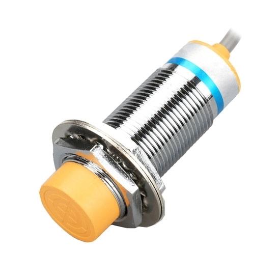Proximity Sensor, Inductive, M24, 2 Wire, 12V
