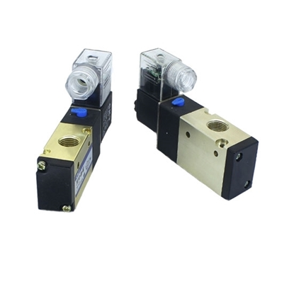Pneumatic Solenoid Valve, 3 Way, Normally Open, 12V/24V/110V/220V