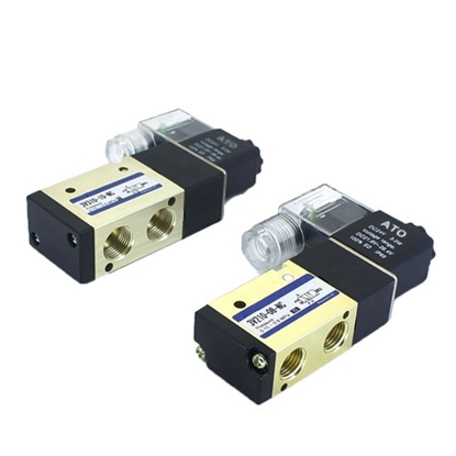 Pneumatic Solenoid Valve, 3 Way, Normally Closed, 12V/24V/110V/220V