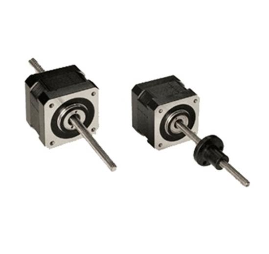 Nema 17 stepper motor linear actuator 2 phase 6v 0 8a for Linear actuator stepper motor driven